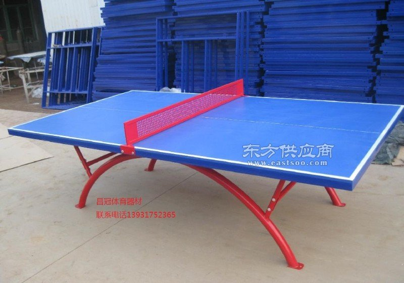 滚轮式乒乓球台生产厂家图片