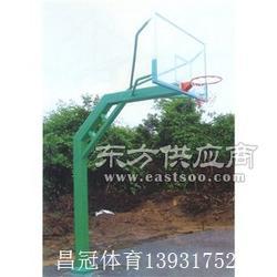 中小学凹箱式篮球架厂家图片