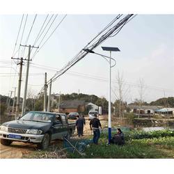 合肥路灯-安徽普烁路灯厂家-乡村路灯图片