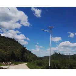 安徽太阳能路灯-安徽普烁路灯厂家-一体化太阳能路灯图片