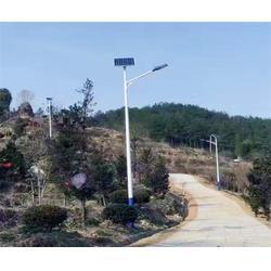 6米太阳能路灯厂家-安徽普烁光电-合肥路灯厂家图片