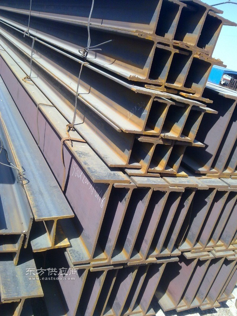 供应A36材质美标h型钢 美标h型钢理重对照表图片
