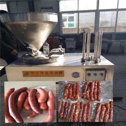 伊春红肠灌肠机,诸城鼎迅机械,红肠灌肠机视频图片