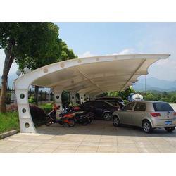 呈贡停车棚安装_呈贡停车棚_路飞膜结构(查看)图片
