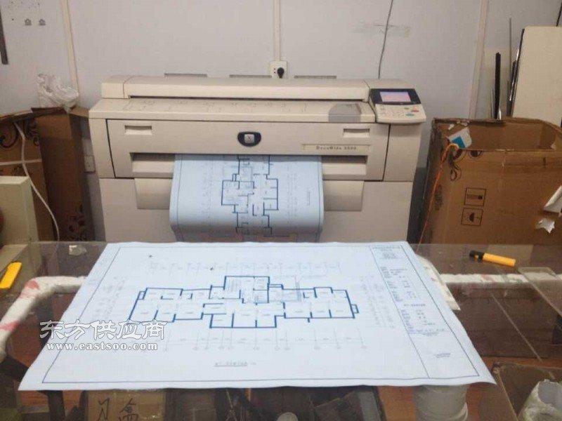 数码蓝图打印 激光蓝图打印 蓝图直接打印 工程大图复印 工程彩图输出