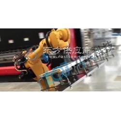 电液数控自动折弯机配置力泰折弯机械手 钣金机器人操作图片