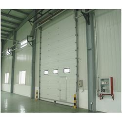 工业滑升门供应商、海南工业滑升门、卓固门业公司图片