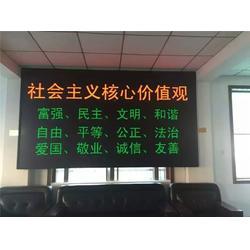渝利文安防监控、室内全彩led显示屏、江津显示屏图片