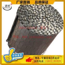 链板网带_烘干机冲孔链板网带_链板输送带厂家(优质商家)图片