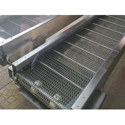 青岛输送机-不锈钢网链输送机-倾斜式提升输送机(优质商家)