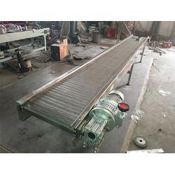 杭州输送机-定制钢丝编织网带-不锈钢合页板输送机图片