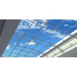 乳山幕墙 威海运光装饰 明框玻璃幕墙图片