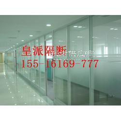 虞城办公玻璃隔断,双玻百叶玻璃隔断,隔墙高隔间图片