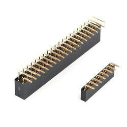 led直角塑料排针-捷优电子厂家直销-排针图片