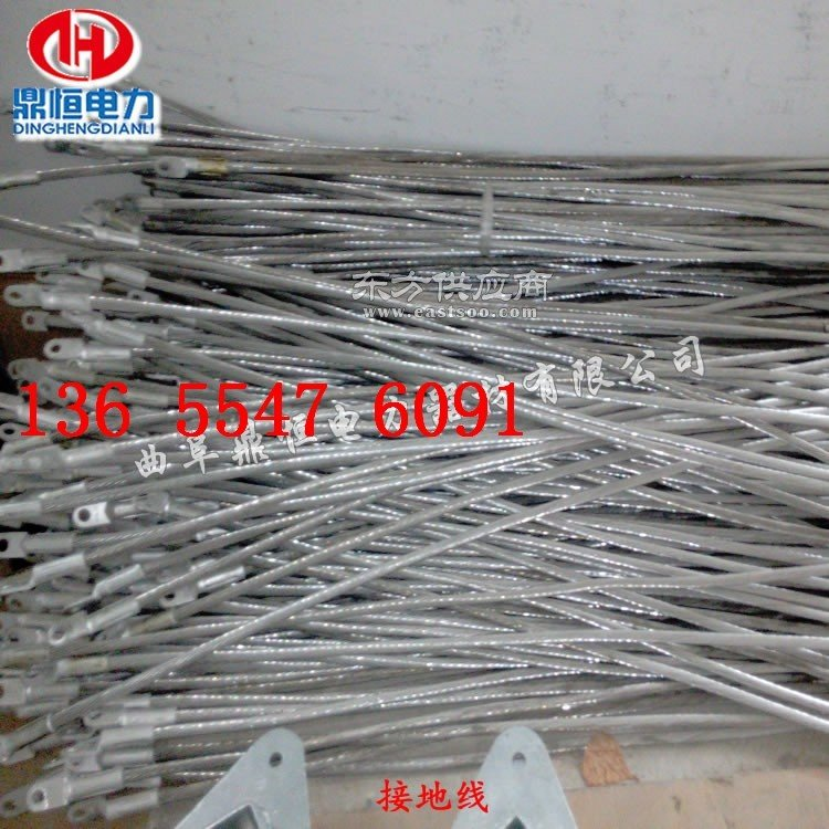 OPGW光缆悬垂金具 接地线夹图片