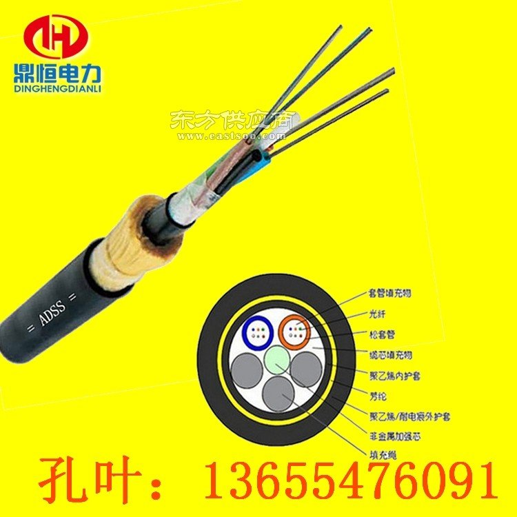 ADSS光缆电力光缆PE护套图片
