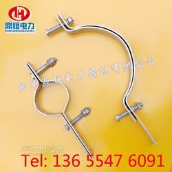 ADSS光缆230单长尾抱箍  杆用紧固抱箍图片