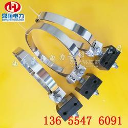 ADSS光纜桿用引下線夾塔用引下線夾光纜緊固夾具圖片