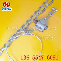 OPGW光缆悬垂金具铝合金悬垂线夹材质说明图片