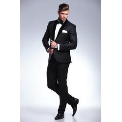 男士休闲西服、南京西服、朗圣服装有限公司(查看)图片