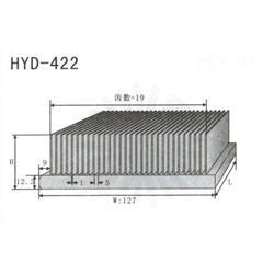 插片式散热器供应-湖北插片式散热器-镇江豪阳图片