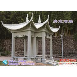 石雕牌坊-青龙石雕声名远扬-浙江石雕图片