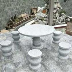 石桌石凳哪里有卖-青龙石雕技艺精湛-嘉兴石桌石凳图片