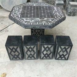 石桌石凳-青龙石雕-值得信赖-石桌石凳厂家图片