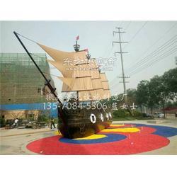 陆地景观船大型景观船制造 休闲娱乐木制船振兴图片