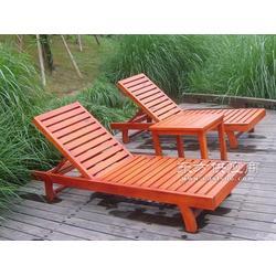 精品推荐沙滩躺椅 带茶几带伞沙滩椅 沙滩椅厂家图片