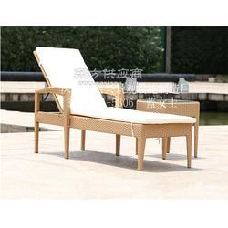星级酒店温泉沙滩椅 躺床沙滩椅21茶几组合图片