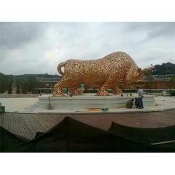 望天铜牛雕塑,苏州铜牛雕塑,厂家定制(多图)图片