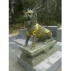 专业制作,台州铜麒麟,厂家铜麒麟雕塑图片