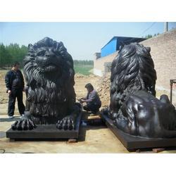 铜仁市铜狮子_天顺雕塑(优质商家)_汇丰铜狮子图片