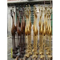 专业制作 遵义市铜鹤雕塑 铜鹤雕塑厂家图片