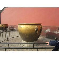 铜大缸、天顺雕塑、青铜大缸雕塑图片