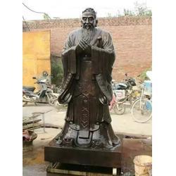 茂名人物雕塑_人物雕塑铸铜孔子全身像_信誉为本(多图)图片