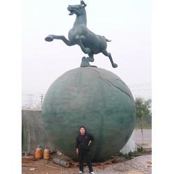 草坪景观铜马雕塑制作、汉中铜马雕塑、实力商家(图)图片