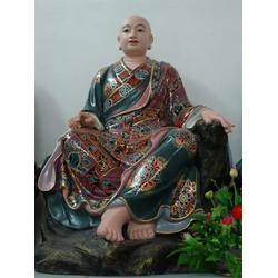 九江十八罗汉_佛像厂家(在线咨询)_青铜十八罗汉铜佛像制作图片