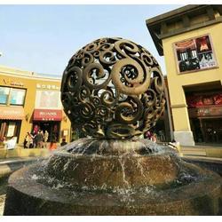 河南喷泉-天顺雕塑-海豚喷泉雕塑图片