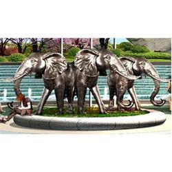 天顺雕塑|楚雄大象雕塑|广场大象雕塑制作图片