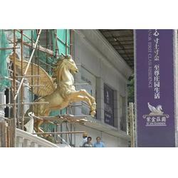 铜马厂家-榆林铜马摆件-纯铜马摆件制作图片