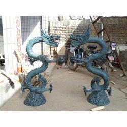 南昌铜龙雕塑|天顺雕塑|神兽铜龙雕塑制作图片