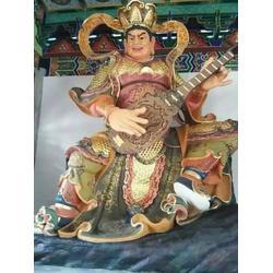 贴金彩绘四大天王铜佛像、四川四大天王、神佛铜像(多图)图片