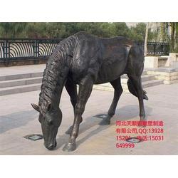 河北天顺雕塑专业制作铜马雕塑_铜马踏飞燕_陕西铜马图片