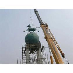 韶关城市雕塑、诚信经营、华尔街牛城市雕塑图片