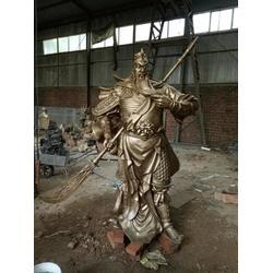 临汾市关公佛像|铸铜关公佛像|天顺雕塑图片