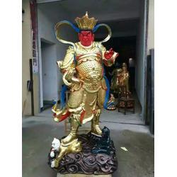 铜雕四大天王佛像,江西四大天王,神佛铜像厂家图片