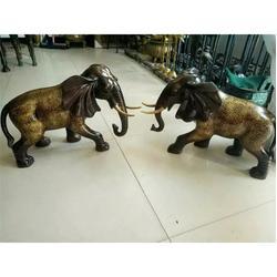 景洪大象雕塑,天顺雕塑(在线咨询),室内大象雕塑铜摆件图片