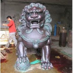 舟山铜狮子_天顺雕塑(在线咨询)_铜狮子厂家图片